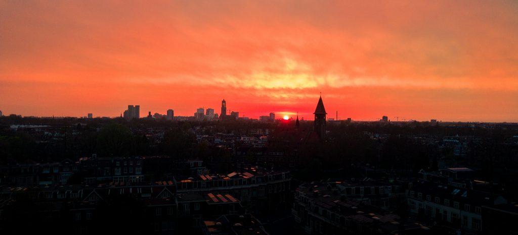 Utrecht Zonsondergang